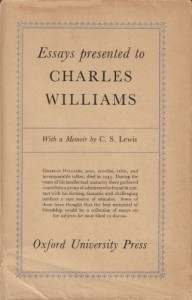 Essays Presented to Charles Williams