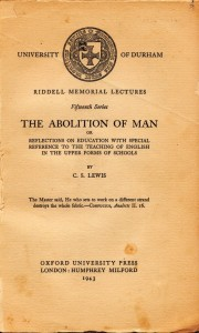 Abolition of Man (from Arend Smilde)