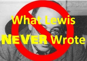 Lewis Never Wrote