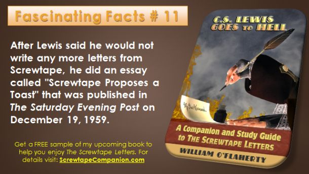 Screwtape Facts 11