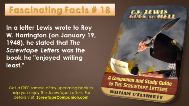 Screwtape Facts 18