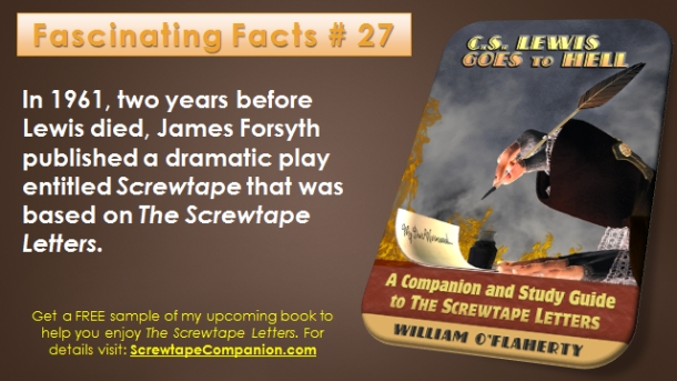 Screwtape Facts 27