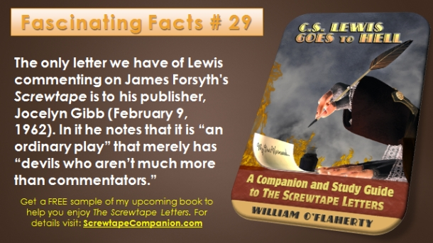 Screwtape Facts 29