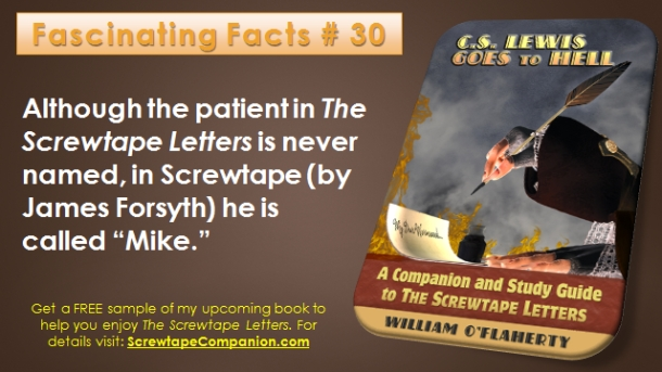 Screwtape Facts 30