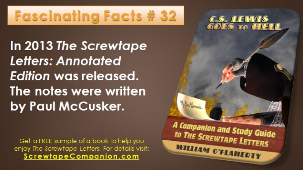 Screwtape Facts 32