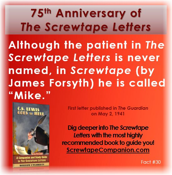 an analysis of cs lewis the screwtape letters In the screwtape letters, clive staples lewis uses allegories to raise an individual's awareness of spiritual warfare definition of an allegory before providing a rhetorical analysis of the screwtape letters through the use of allegories.