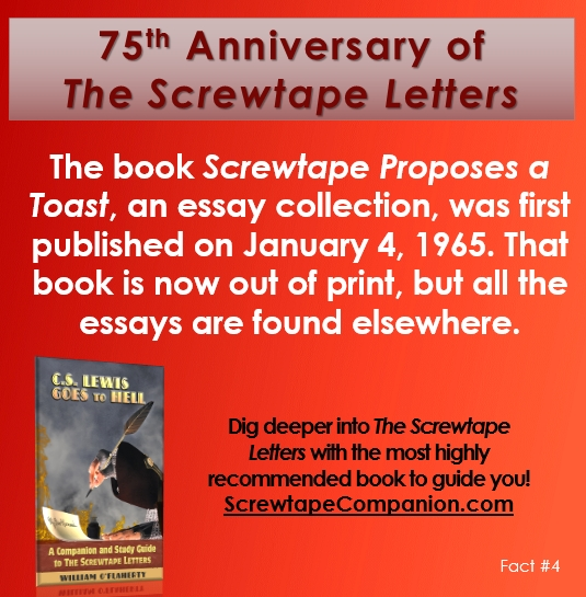 screwtape letters essays