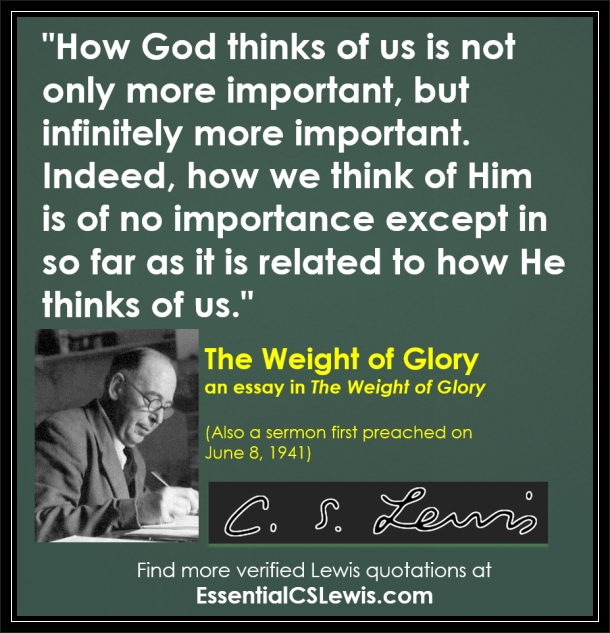 cs lewis the weight of glory essay Nine sermons and addresses delivered by lewis during world war ii, including ' transposition,' 'on forgiveness,' 'why i am not a pacifist,' 'learning in war-time,' and his most famous, 'the weight of glory' 'these display color, power, and profound thinking,'---evangelical beacon paperback with french flaps and.