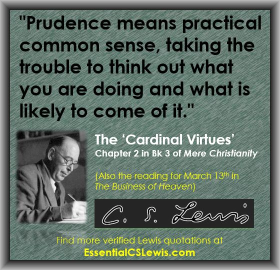 Q03-13 (Prudence Means)