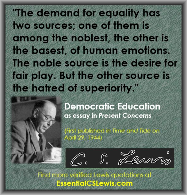 Q04-30 - (Demand for Equality)