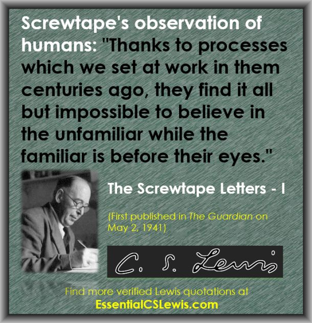 Q05-05b - (Believe in Unfamilar - SCREWTAPE)