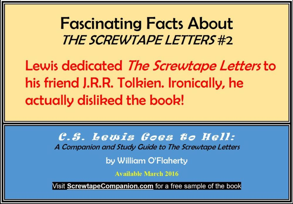 Fascinating Facts About The Screwtape Letters 2